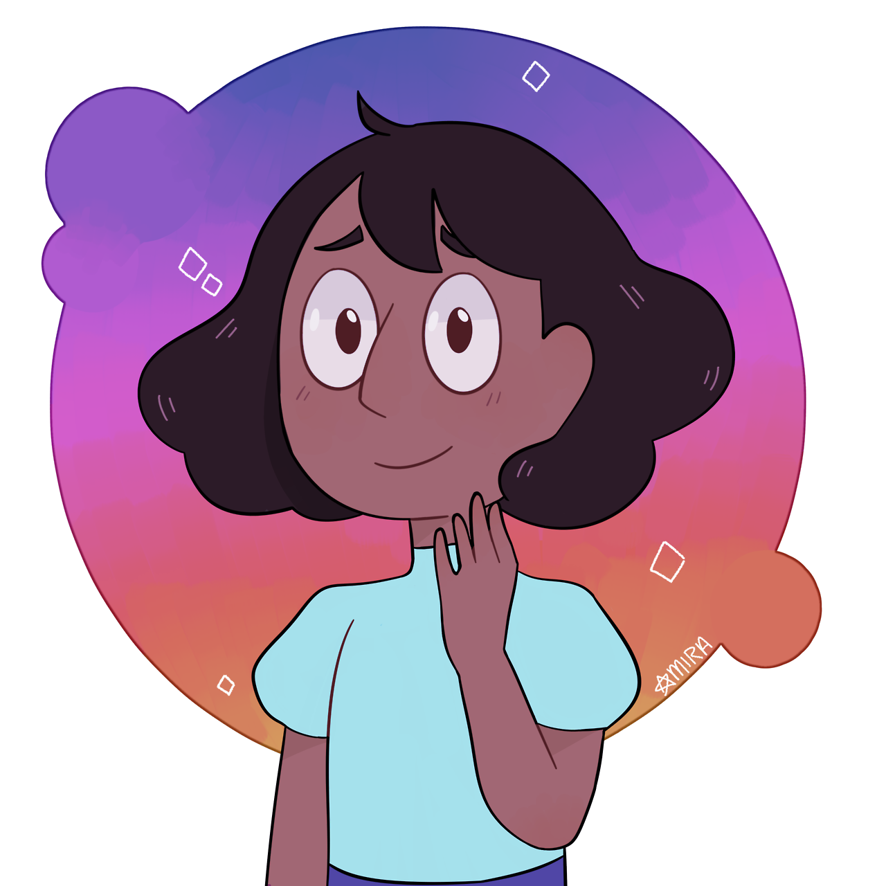 bECAUSE SHORT-HAIRED CONNIE IS PRECIOUS