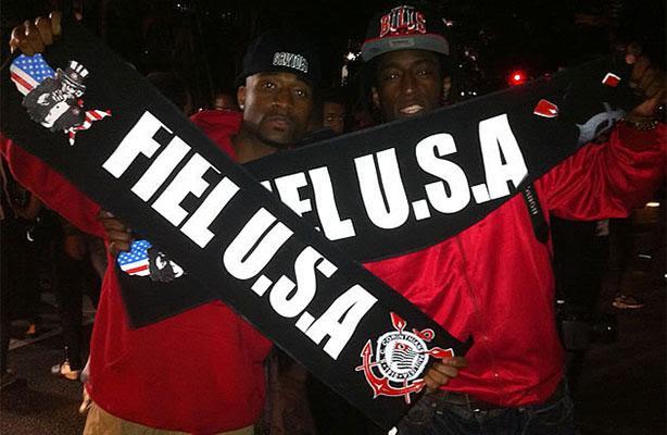 Rappers americanos vem ao Brasil só pra ver o jogo do Corinthians