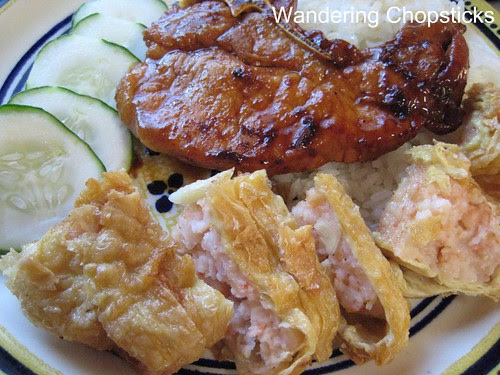 Tom Tau Hu Ky (Vietnamese Shrimp Paste Wrapped in Bean Curd Skin) 1
