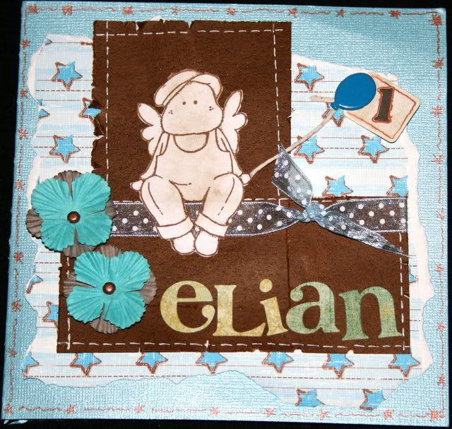 Elian 1 år