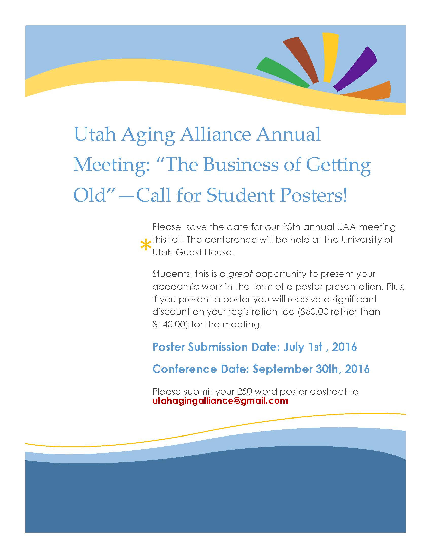 May - Center on Aging - The University of Utah