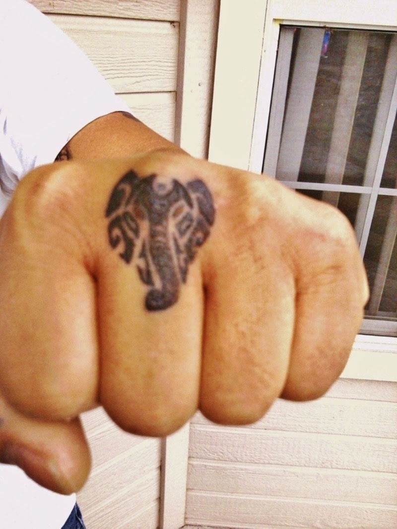 Elephant Tattoo On Finger Tattoos Book 65000 Tattoos Designs