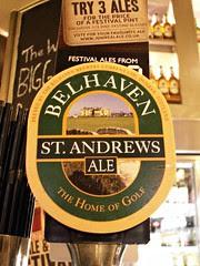Belhaven, St Andrews, Ale, Scotland