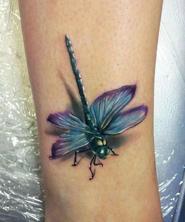 75 desenhos de tatuagem de libélula bonito e sexy 41 por Bryan