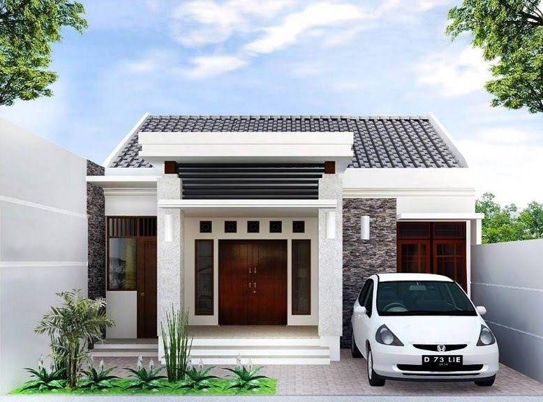 Desain Eksterior Rumah: Desain Rumah Type 30 72