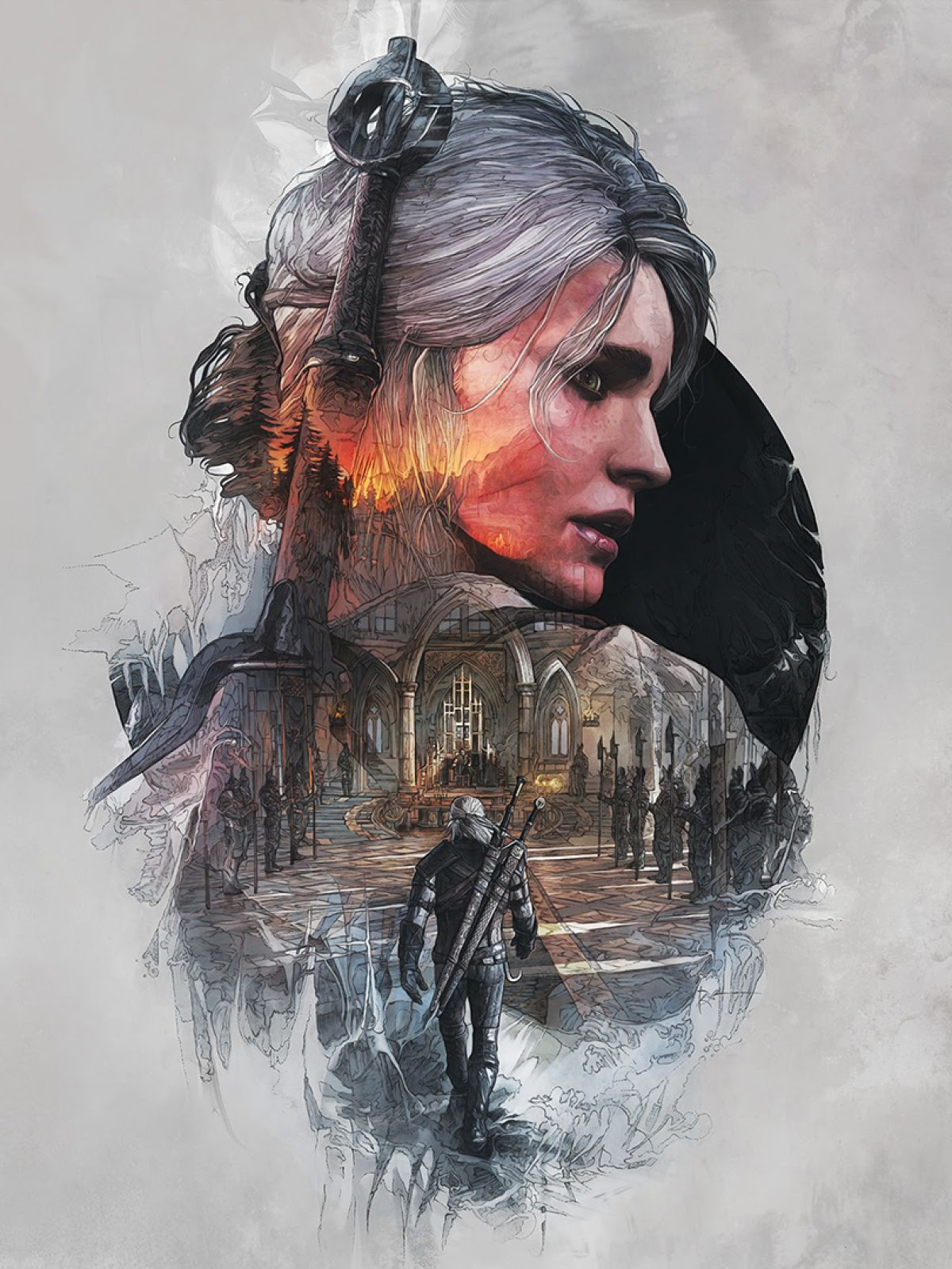 The Witcher 3 Wild Hunt Mobile Wallpaper Mobiles Wall
