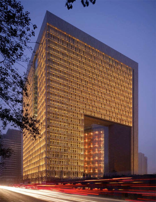 New Beijing Poly Plaza by SOM 03 14 Futuristic Building Designs in China