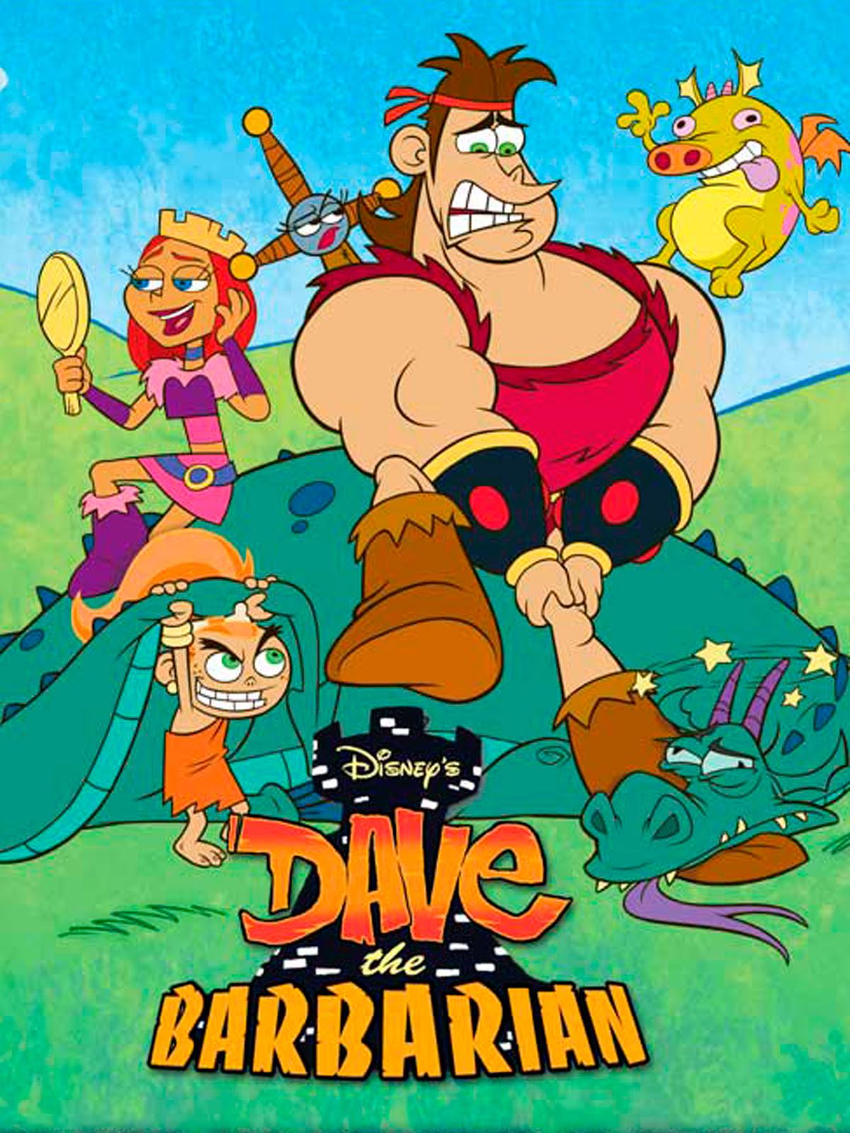 Dave, el Bárbaro - Serie 2004 - SensaCine.com