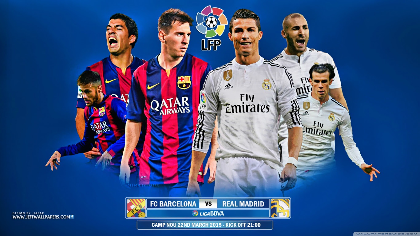 El Clasico Wallpapers Fc Barcelona Football Wallpaper