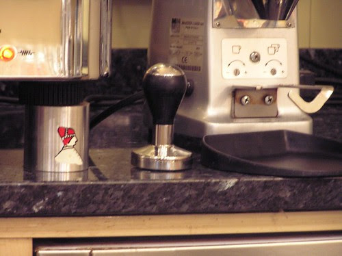 Another Tamper at Caffe del Doge, Rialto