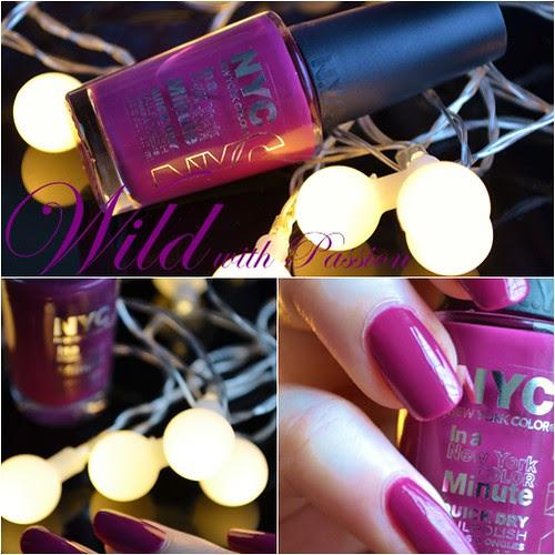 NYC Wild with passion nail polish