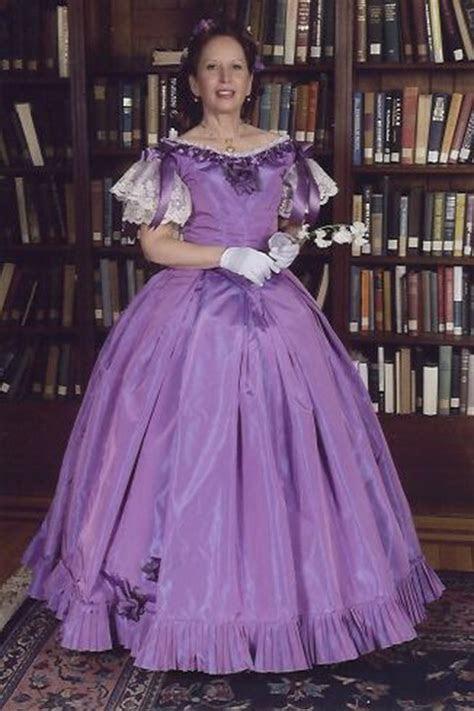 civil war gowns