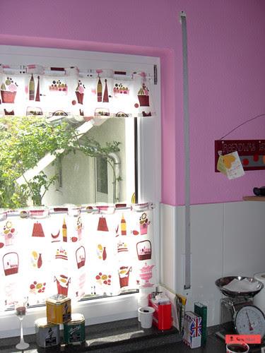 1 yd kitchen curtain / küchenvorhang