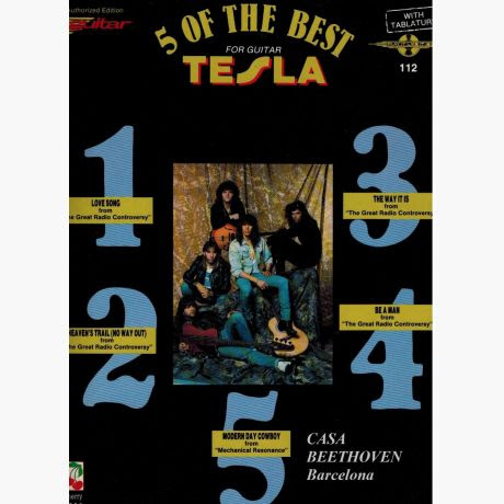 Tesla 5 Of The Best For Guitar Love Song Be A Man