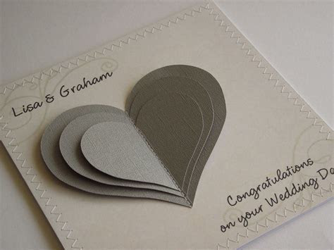 handmade wedding cards   Handmade Wedding Congratulations