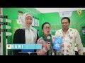 Cheriatna Pembicara Di Temu Pemuda Islam Dunia di Gedung MPR RI 2019 Tentang Aplikasi Halal Traveler