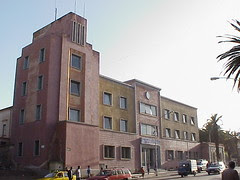 former Casa del Fascio, Asmara