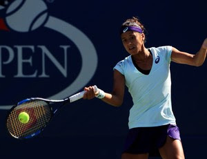 Teliana Pereira US Open 2016 (Foto: Michael Reaves / AFP)