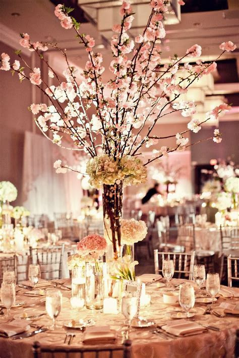 cherry blossom centerpieces by Petal Productions   reminds