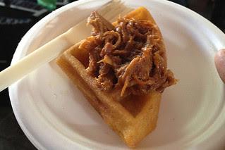 SF Chefs 2013 - Pork waffle by Public House