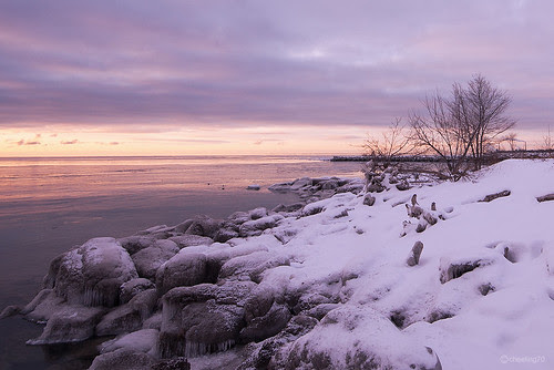 Sunrise at Port Credit