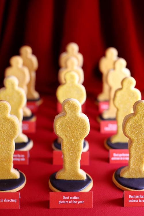 Awards Night Statue Cookies Bakerellacom