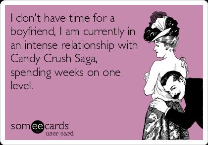 É hora de arrumar uns namoradinho.