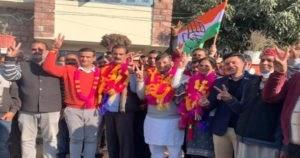 नगर परिषद सुजानपुर में अध्यक्ष पद पर कांग्रेस का कब्जा..