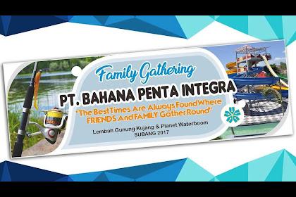 30+ Top For Kata Kata Spanduk Family Gathering
