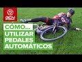 Vídeo de Mayalen Noriega que nos enseña los primeros pasos para dominar los pedales automáticos