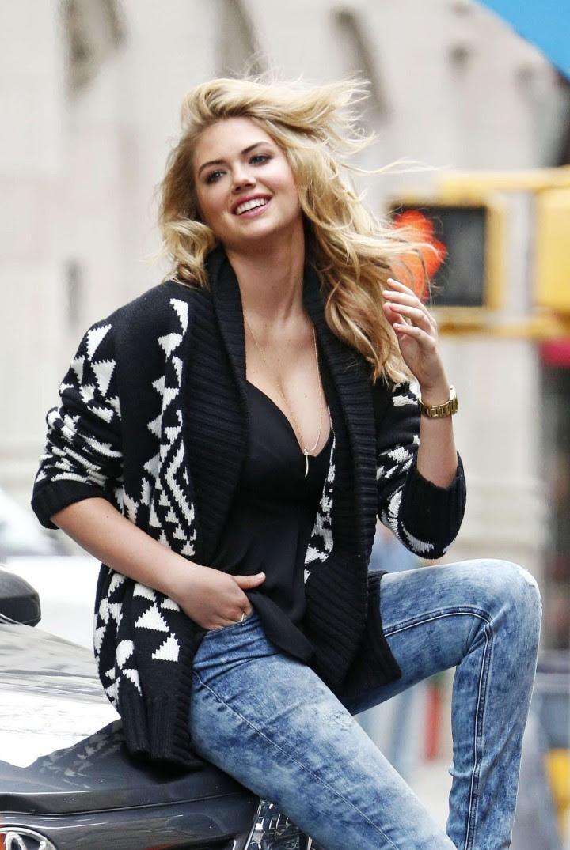 Kate Upton Street Photoshoot in NYC -30