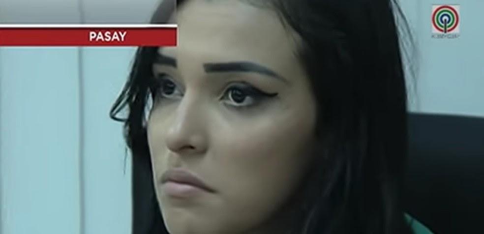 Yasmin Fernandes em imagem da TV Patrol, da ABS-CBN News (Foto: Reprodução)