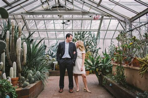 Lamberton Conservatory Rochester NY Engagement Shoot