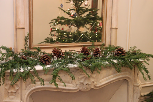 Our mantel