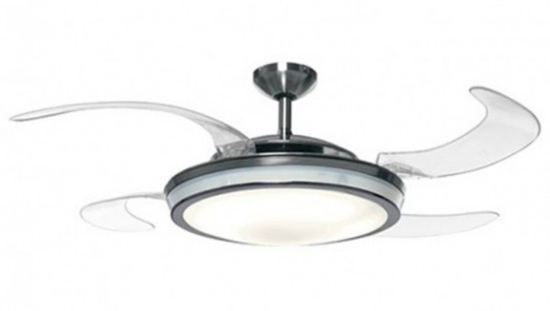 From j a rope of sand win retractable blade ceiling fan - Fabulous retractable blade ceiling fan ...