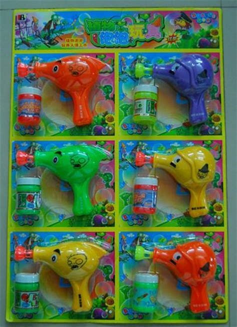 Plants Vs Zombies & Peashooter Bubble Gun(id:7425984