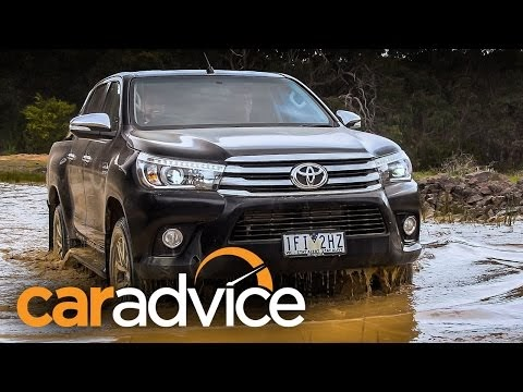 2016 Toyota HiLux - pickup truck test drive and full video review