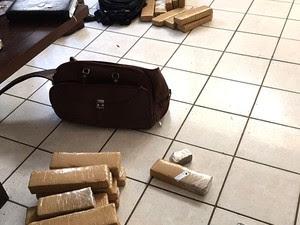PF confirma que há drogas apreendidas em Natal (Foto: Divulgação/PF)