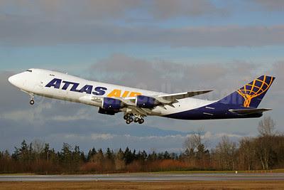 Atlas Air Boeing 747-87UF N854GT (msn 37566) PAE (Nick Dean). Image: 911616.