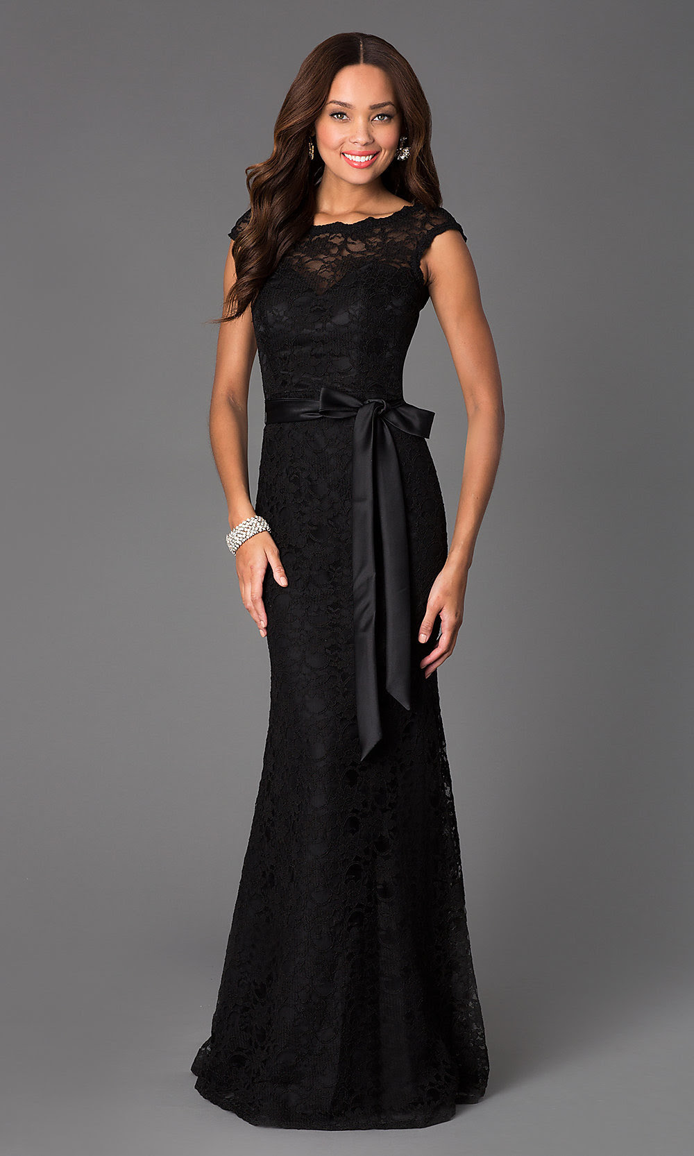 Black evening dress images