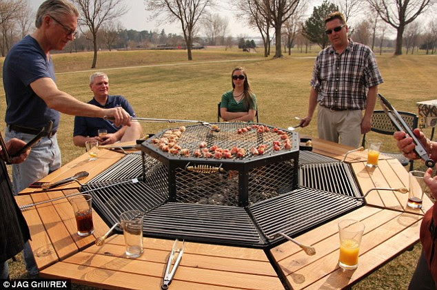Summer's here: The grill picnic table could be the perfect option for hosting a barbecue