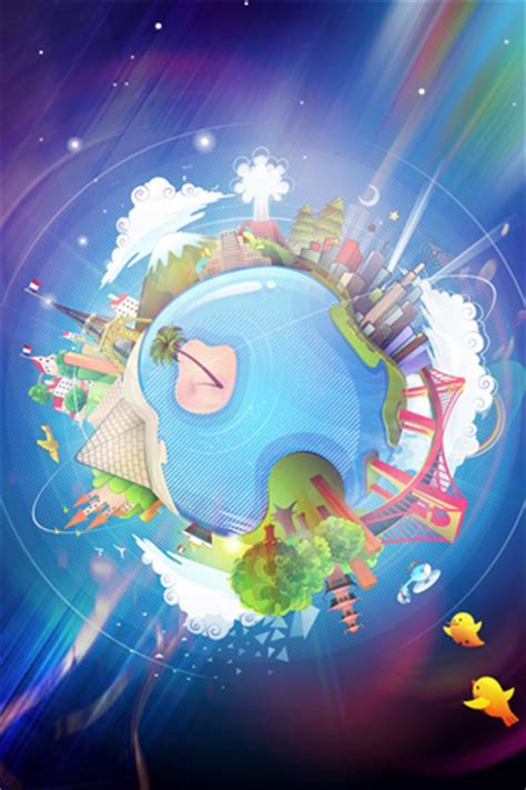 Sony Xperia Go Wallpapers: Cartoon Planet Android Wallpapers