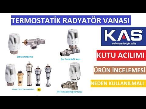 Termostatik Radyatör Vanası Kutu Açılımı ve Ürün İncelemesi.