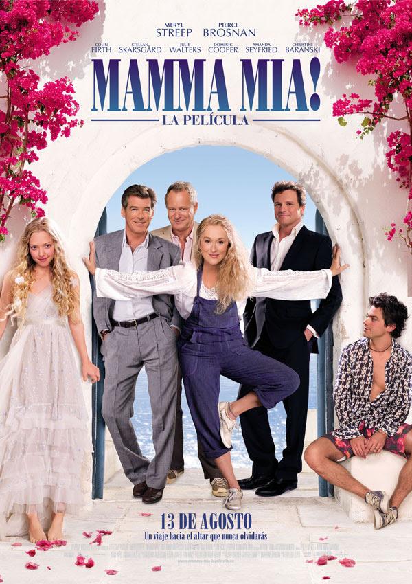 póster de la película mamma mía!