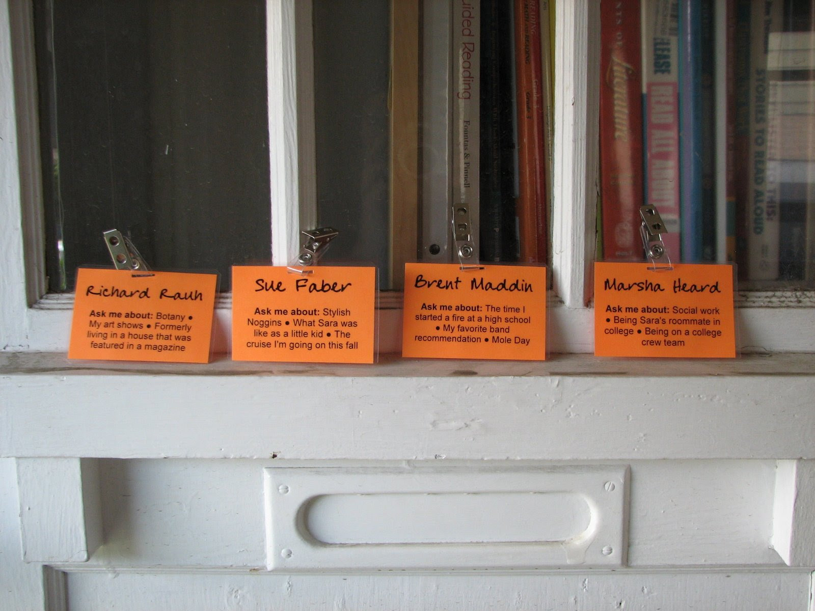 diy nametags