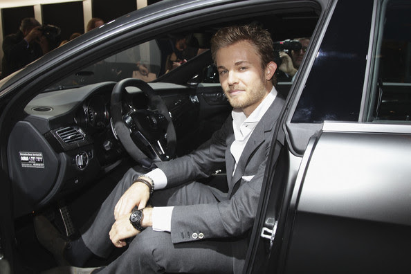 Nico Rosberg Pictures - Allude Show - Mercedes Benz ...