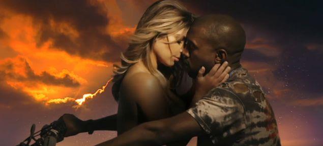 Kim Kardashian y Kanye West/ Bound2