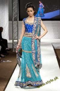 Latest Wedding Wears By Bombay House At PFW UK 2011 5 style.pk