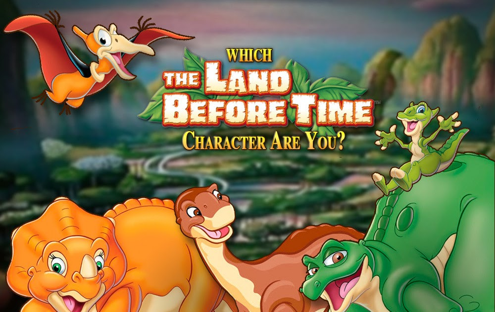 Which 'Land Before Time' Character Are You?