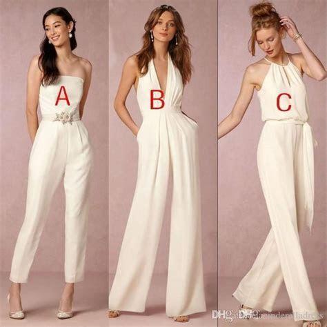 custom  jumpsuit bridesmaid dresses  wedding